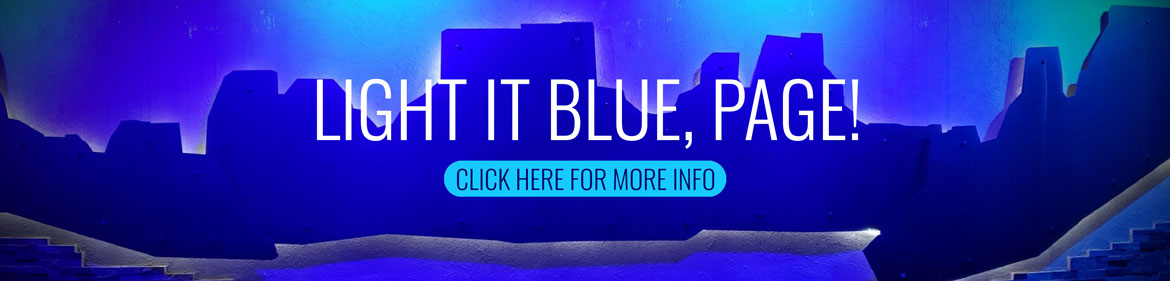 Light It Blue Page!
