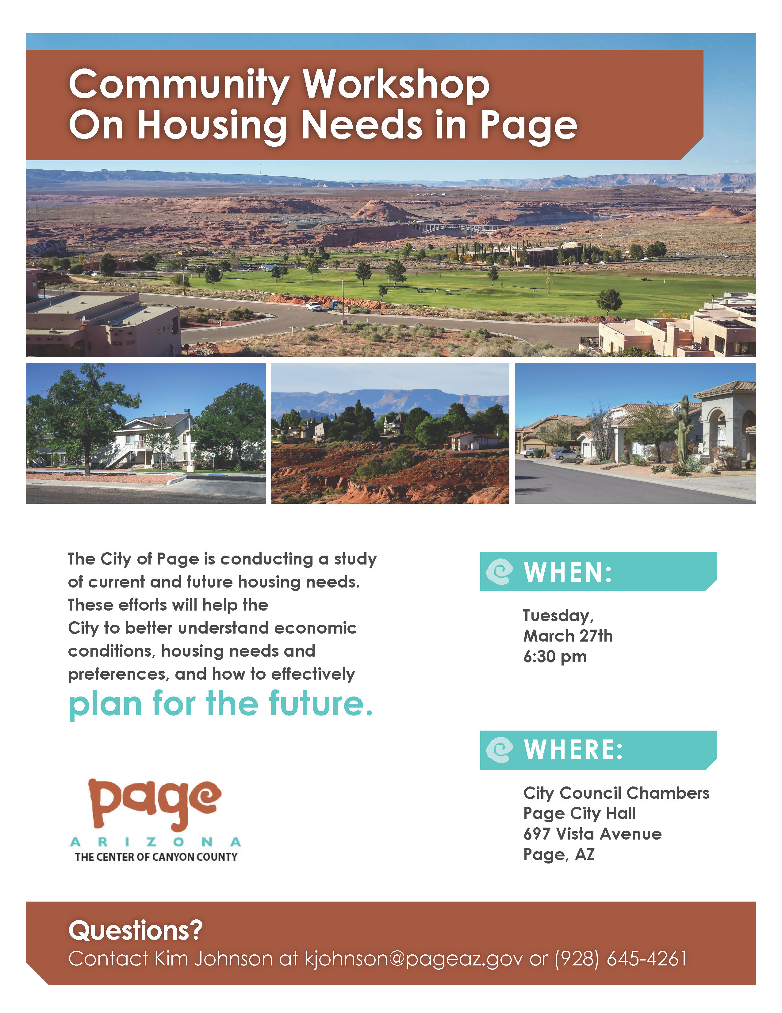 2018 Page Housing Study WS Flyer FINAL
