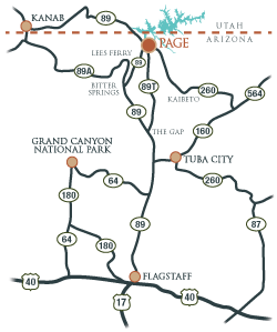 Page Arizona Cop Site Sm Map